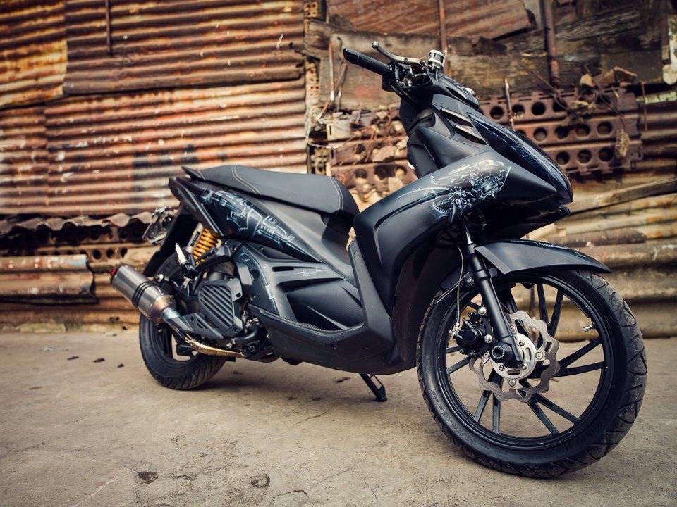 Tong hop xe Yamaha Nouvo do dep tren 2banhvn - 2