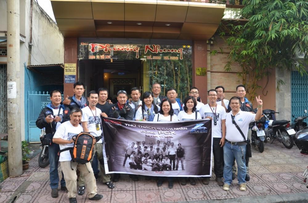 Thu thach Cam nhan cung PCX trong hanh trinh xuyen Viet Phan 2 - 2