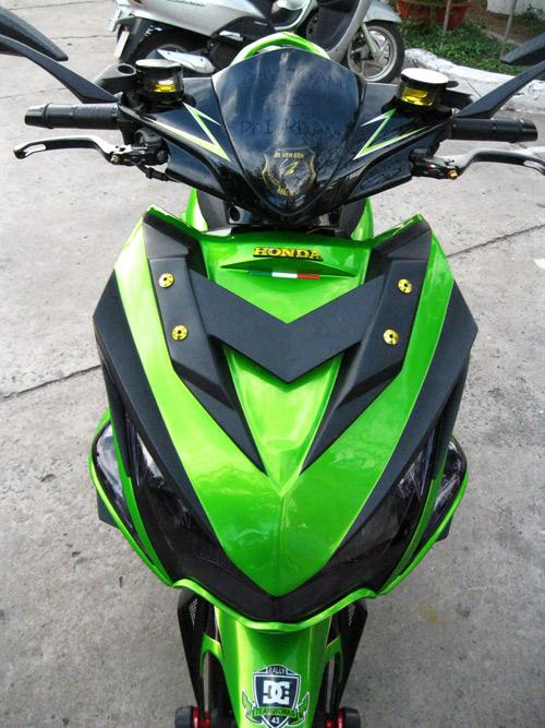Top nhung mau xe do mau xanh Kawasaki 2013 - 2