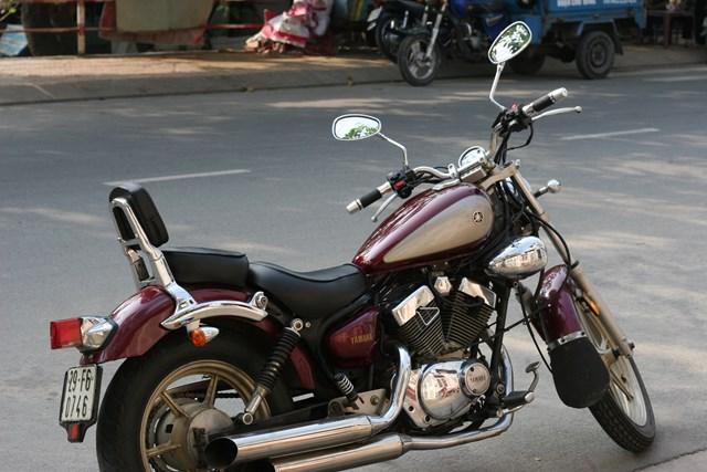 Xe motor Yamaha dong co VTwin cuc ngau gia cuc yeu - 7