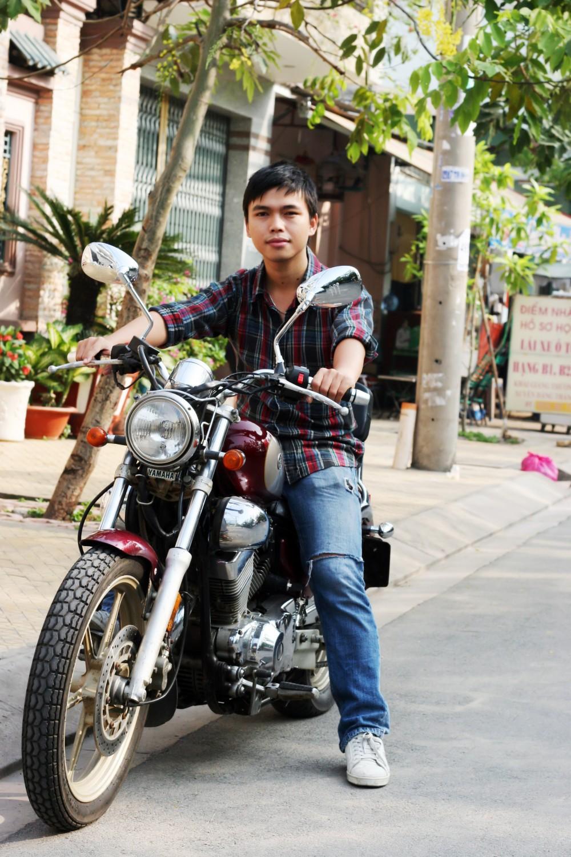 Xe motor Yamaha dong co VTwin cuc ngau gia cuc yeu - 11