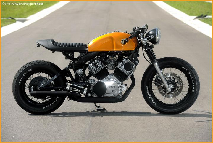 Xe motor Yamaha dong co VTwin cuc ngau gia cuc yeu - 12