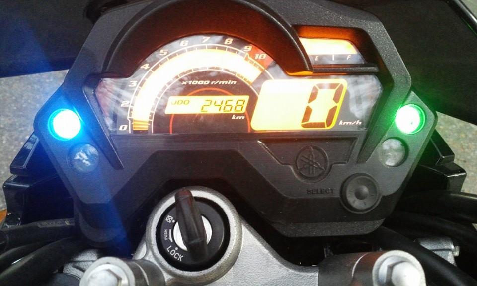FZS 150cc mau Vang Den Dky 112013 moi ODO 2500km cuc ngau - 6