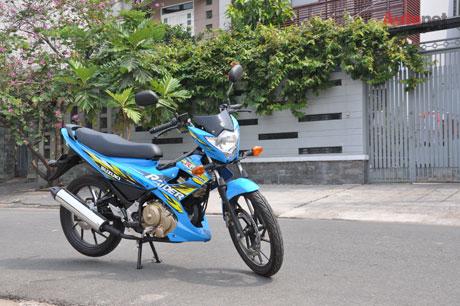 Hoi gia xe cua Suzuki Raider R150 o Sai Gon