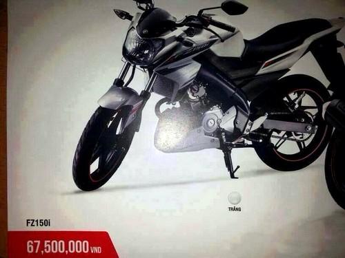 Nakedbike FZ150i moi cua yamaha co gia 675 trieu dong