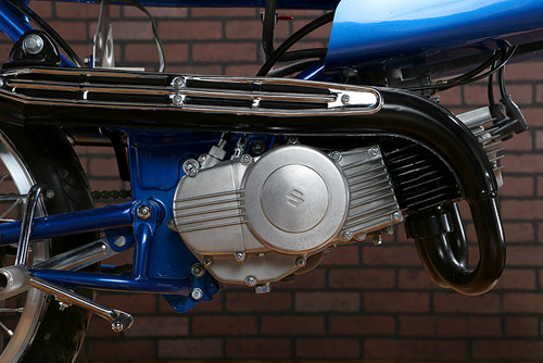 Suzuki Stinger T125 doi 1969 do cafe racer - 6