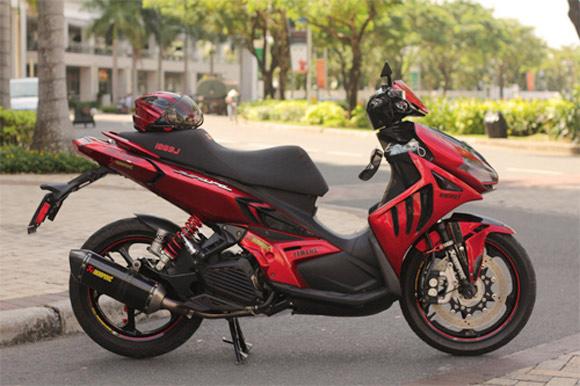 Tong hop xe Yamaha Nouvo do dep tren 2banhvn