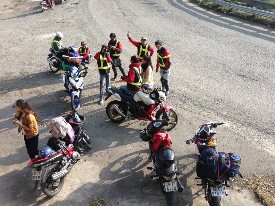 Anh em Ex Lam Ha voi Tour Lam HaBao LocMaDaguoiTanh LinhPhan ThietBac BinhDai NinhLam Ha - 8
