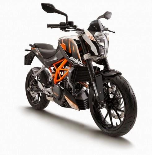 Yamaha R15 Yamaha FZS KTM Duke ABS 125 200 390 Pulsar 200NS Kawasaki Ninja 300 cuc chat - 5