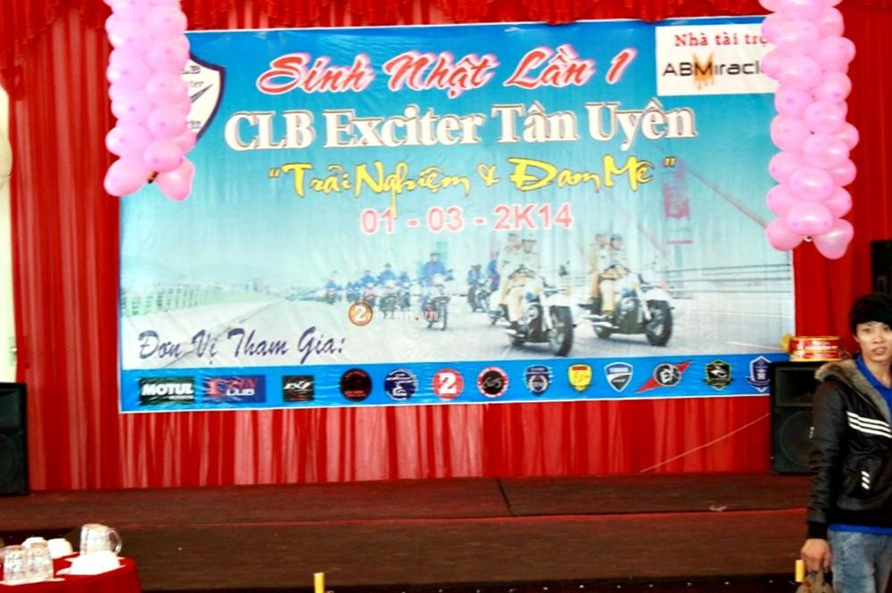 Dai hoi Exciter Mung sinh nhat 1 tuoi CLB Exciter Tan Uyen P1