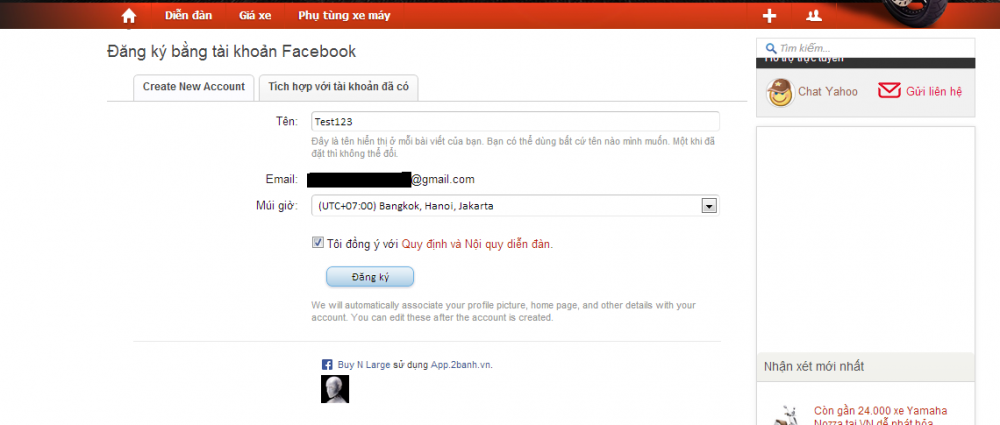 Huong dan tao nick khong can kich hoat mail voi tai khoan facebook - 4