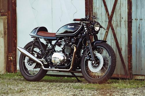 Kawasaki Z750 do caferacer cua Holger Breuer