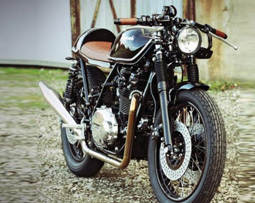 Kawasaki Z750 do caferacer cua Holger Breuer - 4