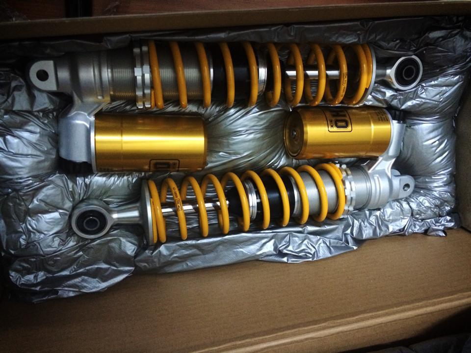 nhan order OHLINS PCX150igan duoc cho SHPSDylannouvoAirbladeSharkGTR125den74 - 4