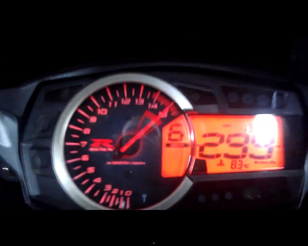 Suzuki GXSR1000 top speed