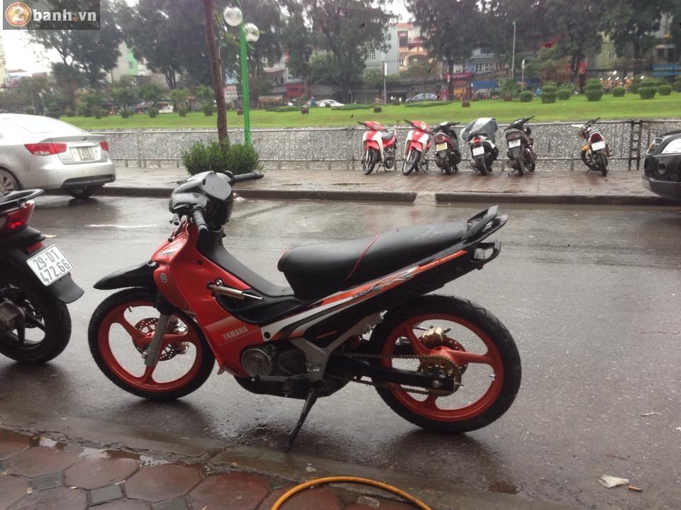 Yamaha 125Z dam me cung Ha Noi - 3