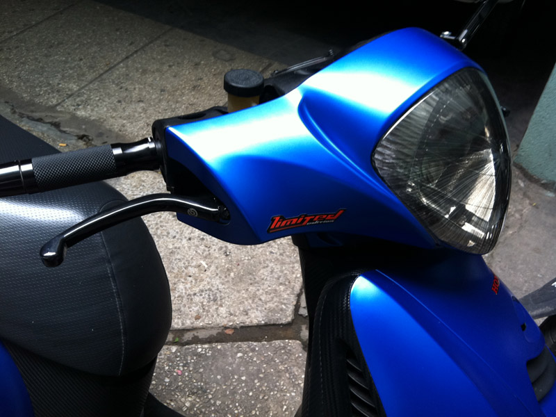 Honda PS xanh duong nham do khung - 7