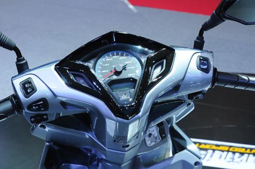 Honda Click 125i 2014 moi ra mat 2 phien ban Racing va Idling Stop - 2