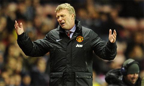 Moyes la vat te than ngay tu luc ve Man United
