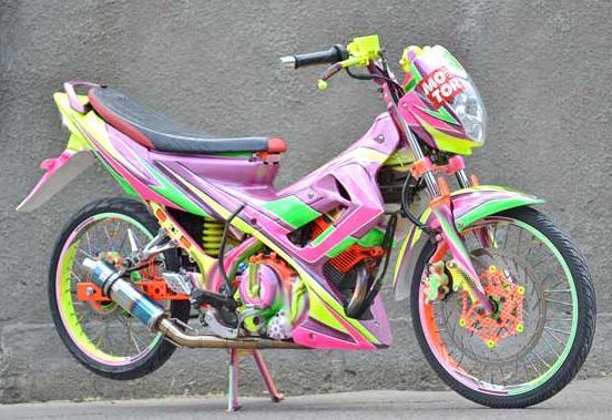 Nhung chu Satria F150 tu Indo - 7