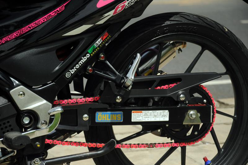 Satria F Raider R150 hong ca tinh - 8