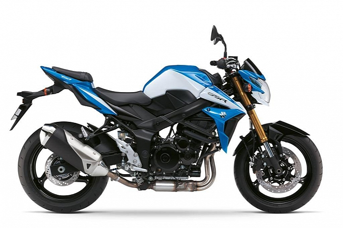 Suzuki GSR750 se co them phien ban dac biet