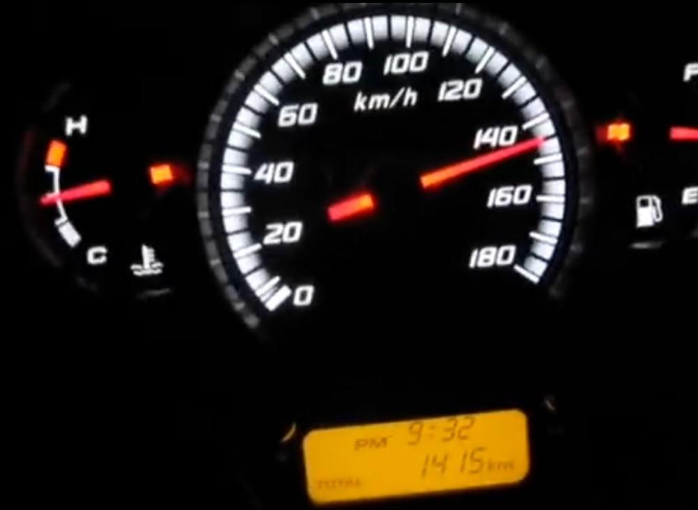Top speed Sh300i 150 kmh
