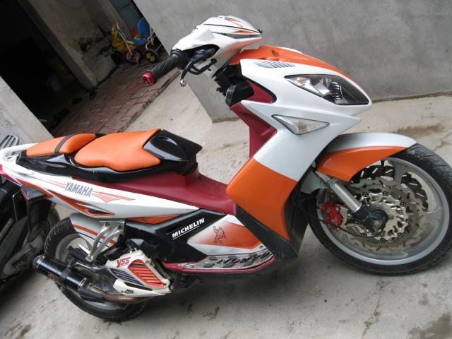 Yamaha Nouvo LX vang nhe nhang tuoi sang