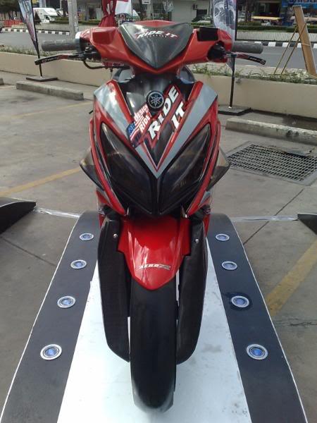 Yamaha nouvo LX phien ban rade it