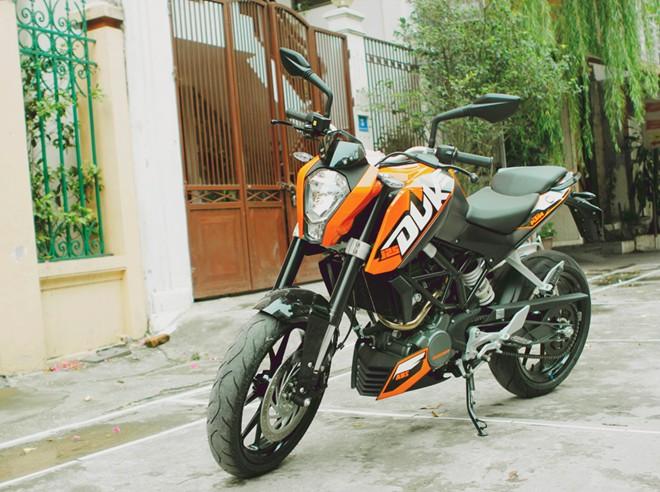 Yamaha R15 Yamaha FZS KTM Duke ABS 125 200 390 Pulsar 200NS Kawasaki Ninja 300 cuc chat - 3