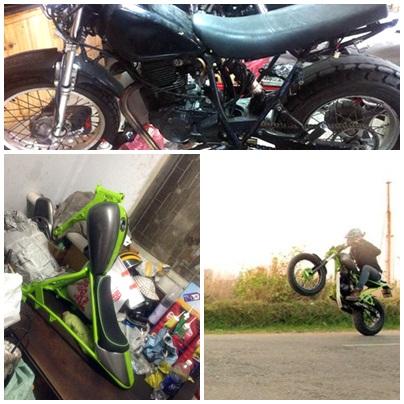 Yamaha TW200 Chau Chau xanh cua chang sinh vien Viet - 7