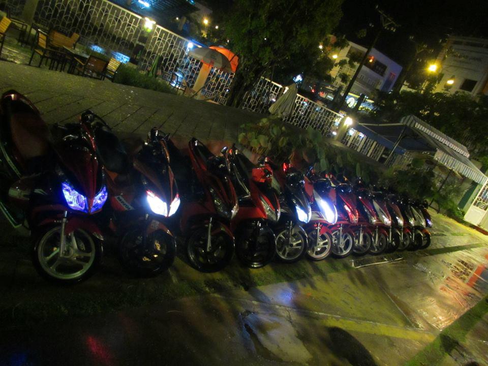 Anh Em hoi Honda Air Blade 125cc OFFLINE lan 2 tai Cafe Toc Do - 9