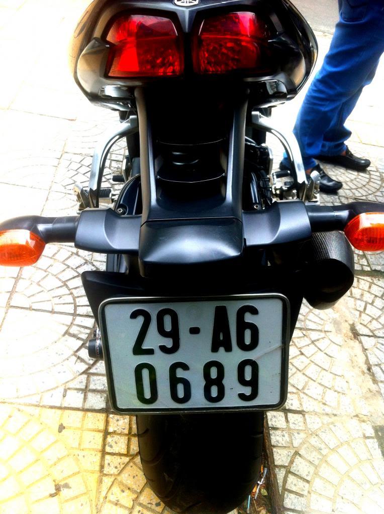 Ban xe PKL yamaha FZ1 Date 2009 Phanh ABS HQCN Ha Noi - 8