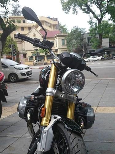 BMW R nineT dau tien ve Viet Nam - 2