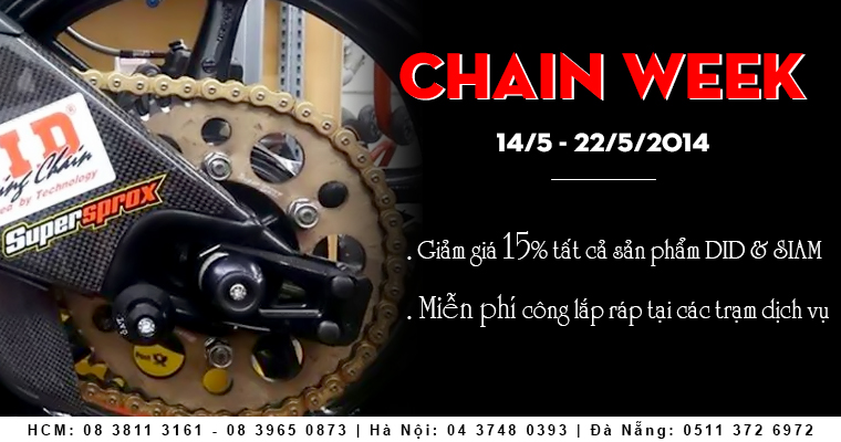 Chain Week Tuan Le Vang Danh Cho Siam Va DID