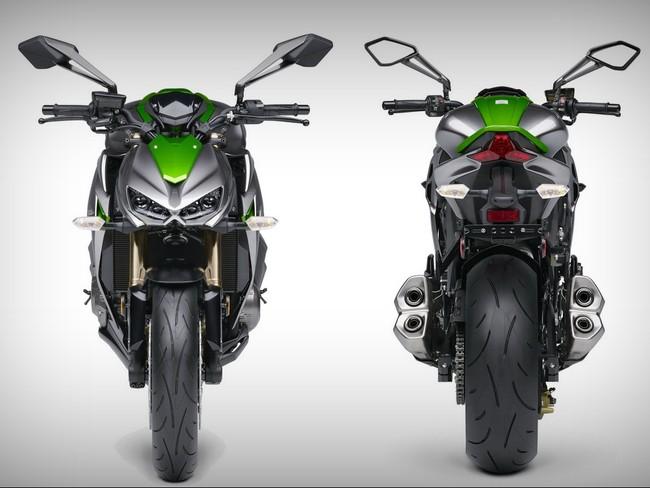Chon kinh chan gio cho Kawasaki Z1000 2014