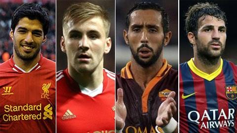 Chuyen nhuong 275 Luis Suarez tuyen bo o lai Liverpool Fabregas thich quay lai Arsenal