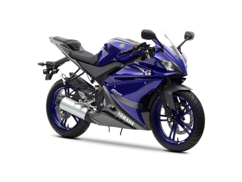 Clip Yamaha R125 maxspeed 134kmh
