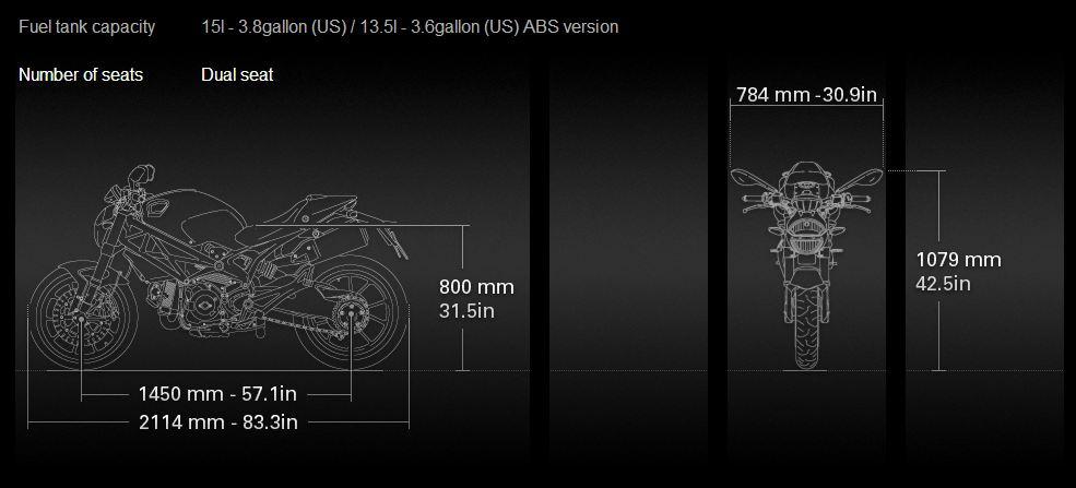 DUCATI Monster 796 ABS - 7