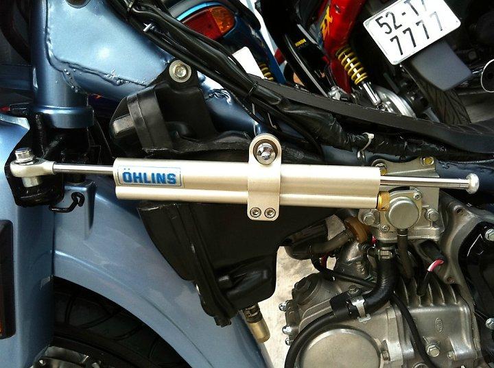Honda Dream Long An don leng keng cung dan bien so khung - 2