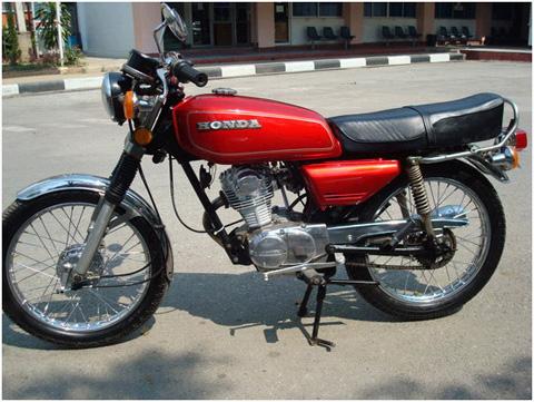 Honda GL100 doi 1985 pha cach
