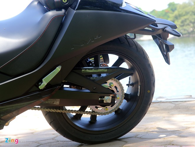 Honda NM4 sieu tay ga may bay phi thuyen da ve Viet Nam - 17