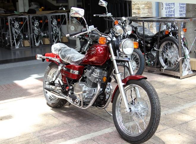 Honda Rebel 250 2014 vua ve Viet Nam