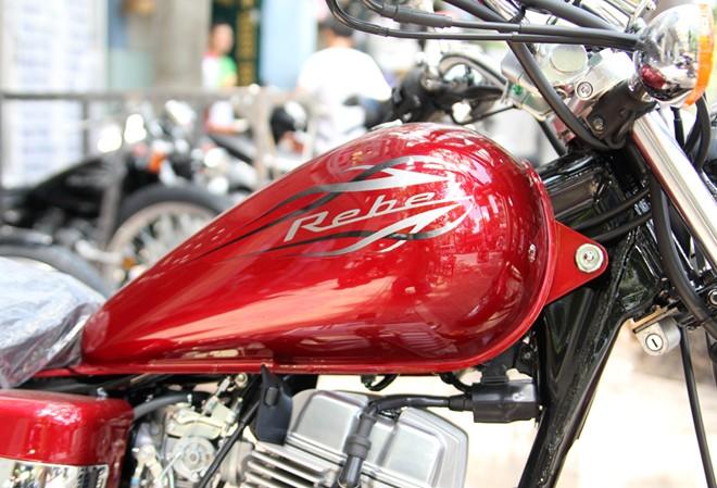 Honda Rebel 250 2014 vua ve Viet Nam - 2