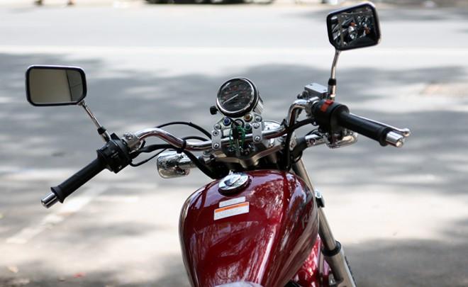 Honda Rebel 250 2014 vua ve Viet Nam - 7