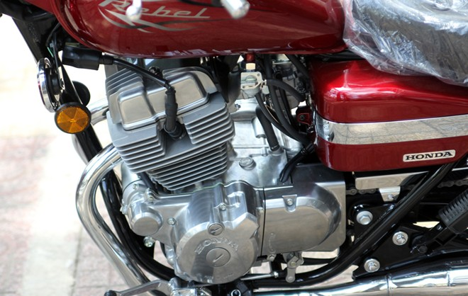 Honda Rebel 250 2014 vua ve Viet Nam - 10