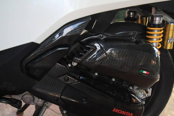 Honda SH 2012 trang den noi bat - 7