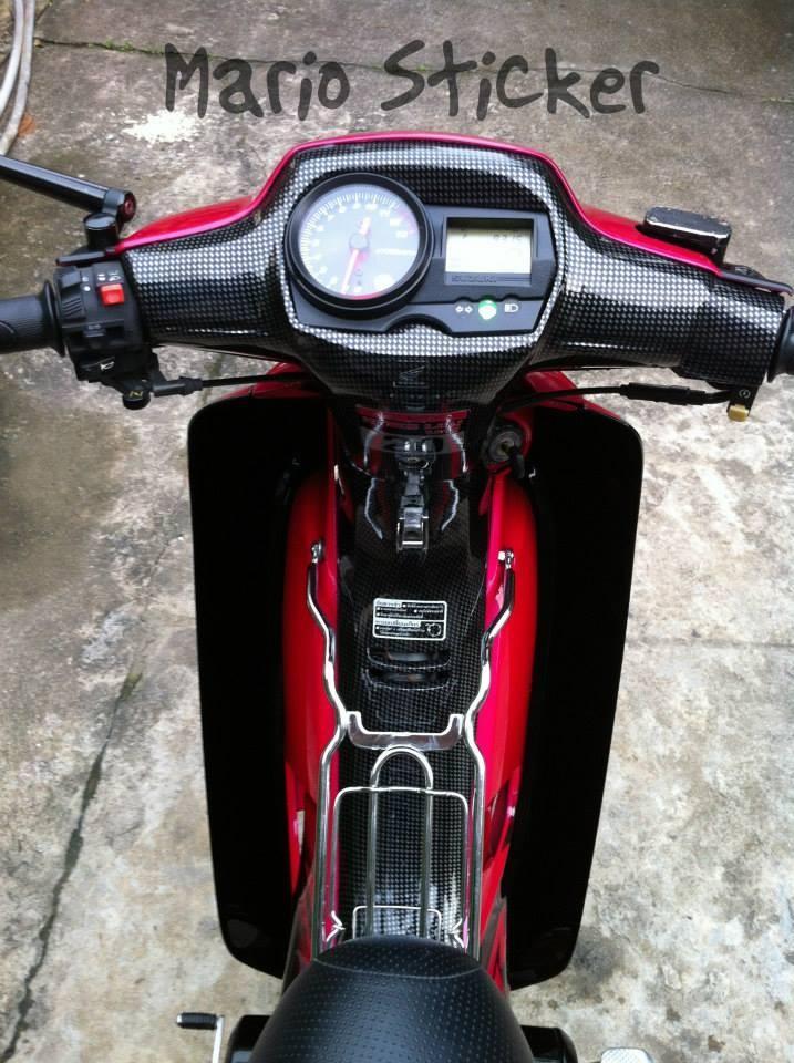 Honda wave do phien ban hoa hong den - 2