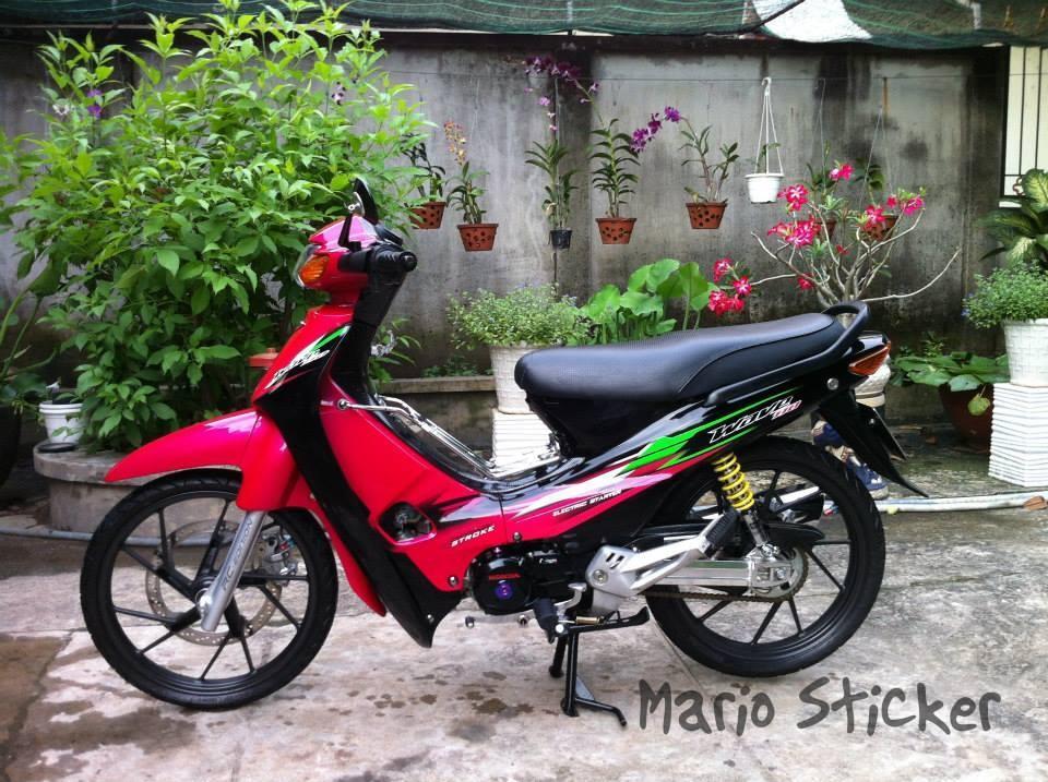 Honda wave do phien ban hoa hong den - 3