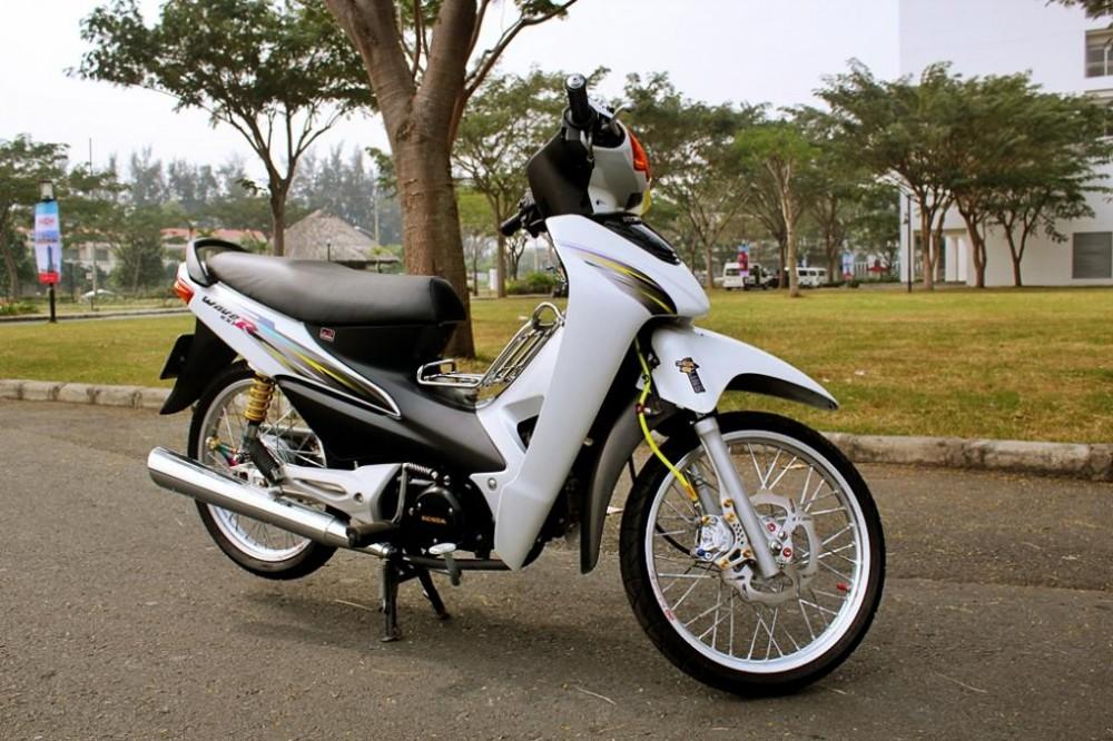 Honda wave trang tinh khoi - 2